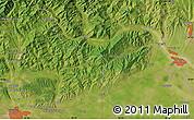 Satellite Map of Sfîntu Gheorghe