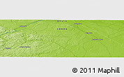 Physical Panoramic Map of Ompah