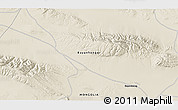 """Shaded Relief 3D Map of the area around 45°10'22""""N,98°40'30""""E"""