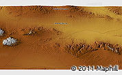 """Physical 3D Map of the area around 45°10'22""""N,99°31'30""""E"""