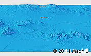 """Political 3D Map of the area around 45°10'22""""N,99°31'30""""E"""