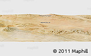"Satellite Panoramic Map of the area around 45°10'22""N,99°31'30""E"