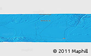 """Political Panoramic Map of the area around 45°35'46""""N,100°22'30""""E"""