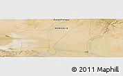 "Satellite Panoramic Map of the area around 45°35'46""N,100°22'30""E"