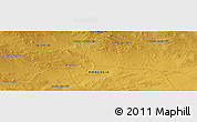 "Physical Panoramic Map of the area around 45° 35' 46"" N, 107° 10' 30"" E"