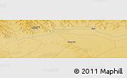 Physical Panoramic Map of Qagan Nur