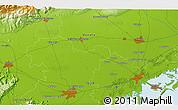 Physical 3D Map of Villorba