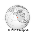 Outline Map of 97219, rectangular outline