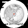 Outline Map of Binxi, rectangular outline