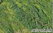 "Satellite Map of the area around 45°35'46""N,14°31'30""E"