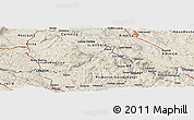 Shaded Relief Panoramic Map of Postojna