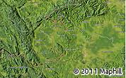 "Satellite Map of the area around 45°35'46""N,15°22'30""E"