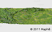 Satellite Panoramic Map of Donji Šajn