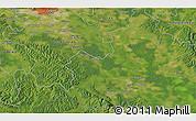 Satellite 3D Map of Potok