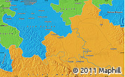 Political Map of Sisak