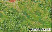Satellite Map of Petrinja