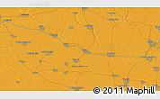 Political 3D Map of Bač