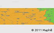 Political Panoramic Map of Grănicerii