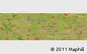 Satellite Panoramic Map of Grănicerii