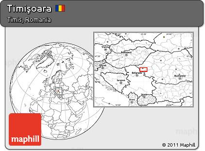 Map of Timişoara, Timisoara Romania