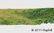 Satellite Panoramic Map of Marga