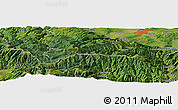 "Satellite Panoramic Map of the area around 45°35'46""N,23°52'30""E"