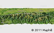 "Satellite Panoramic Map of the area around 45°35'46""N,24°43'30""E"