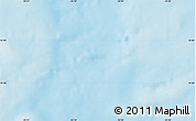 """Shaded Relief Map of the area around 45°35'46""""N,55°10'29""""W"""