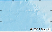 """Shaded Relief Map of the area around 45°35'46""""N,56°52'30""""W"""