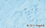 """Shaded Relief Map of the area around 45°35'46""""N,58°34'30""""W"""