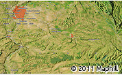 Satellite Map of Lyon