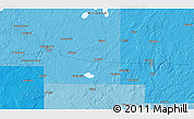 Political 3D Map of Monico