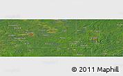 Satellite Panoramic Map of Monico