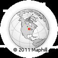Outline Map of Weyerhaeuser, rectangular outline