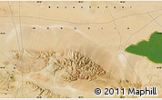 "Satellite Map of the area around 45°35'46""N,98°40'30""E"
