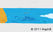 """Political Panoramic Map of the area around 45°35'46""""N,98°40'30""""E"""
