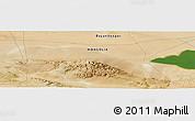 "Satellite Panoramic Map of the area around 45°35'46""N,98°40'30""E"