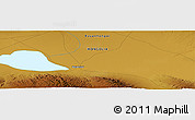"Physical Panoramic Map of the area around 45° 35' 46"" N, 99° 31' 30"" E"
