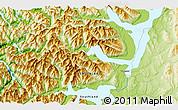 Physical 3D Map of Te Anau