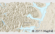 Shaded Relief 3D Map of Te Anau
