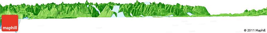 Political Horizon Map of Te Anau
