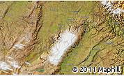 "Satellite Map of the area around 45°18'49""S,170°4'29""E"