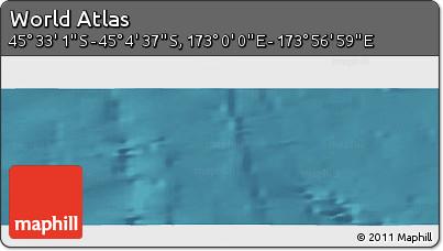 "Satellite Panoramic Map of the Area around 45°18'49""S,173°28'29""E"