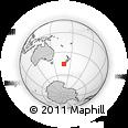 Outline Map of Lumsden, rectangular outline