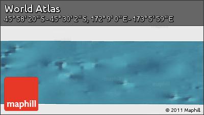 "Satellite Panoramic Map of the Area around 45°44'11""S,172°37'30""E"
