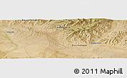 "Satellite Panoramic Map of the area around 46°1'3""N,101°13'29""E"