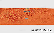 """Political Panoramic Map of the area around 46°1'3""""N,102°4'29""""E"""