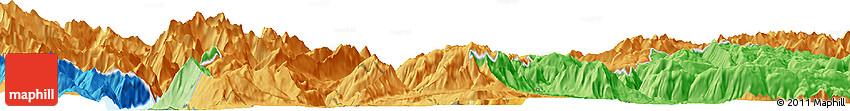 Political Horizon Map of Trento
