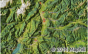 Satellite Map of Trento
