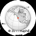 Outline Map of Camp Rilea, rectangular outline